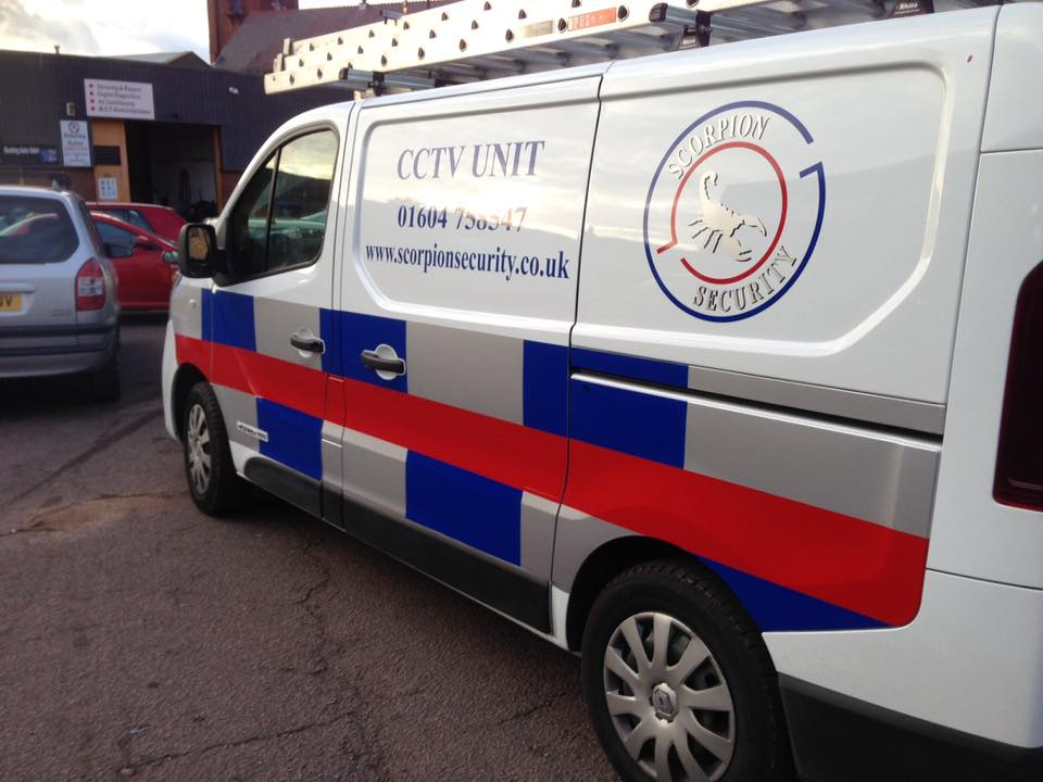 van signs and livery in northampton by signs 2 stick