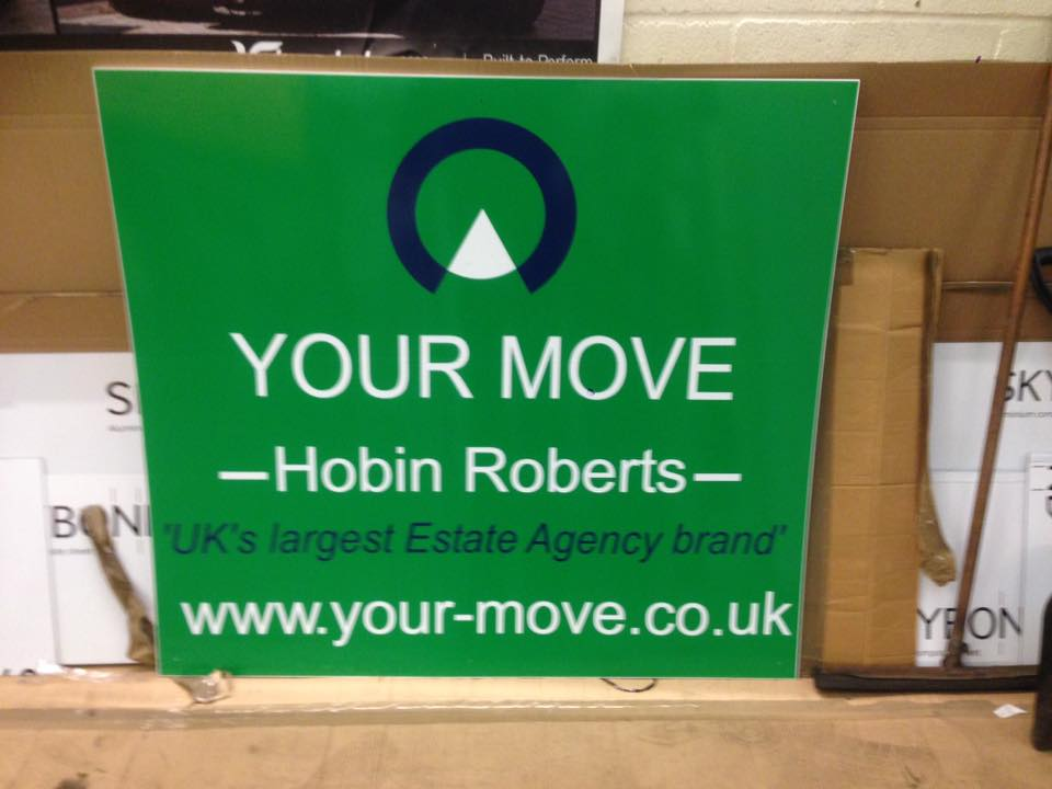 exterior sign for your move in northampton