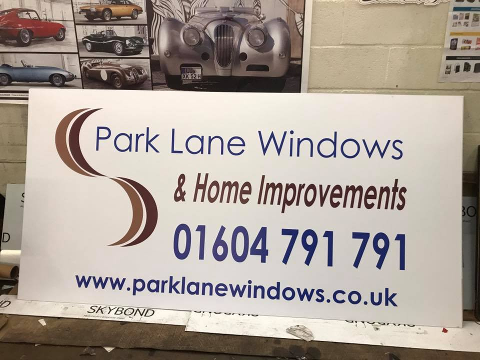 park lane business signs northampton